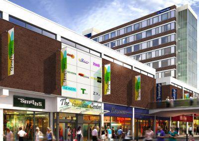 Graftons Shopping Centre & Hotel, Altrincham