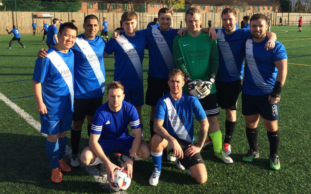 Team Hannan help raise £2250