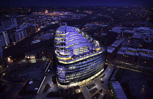 The Co-operative headquaters in Manchester for blog by Hannan Associates, green buildings MEP provider