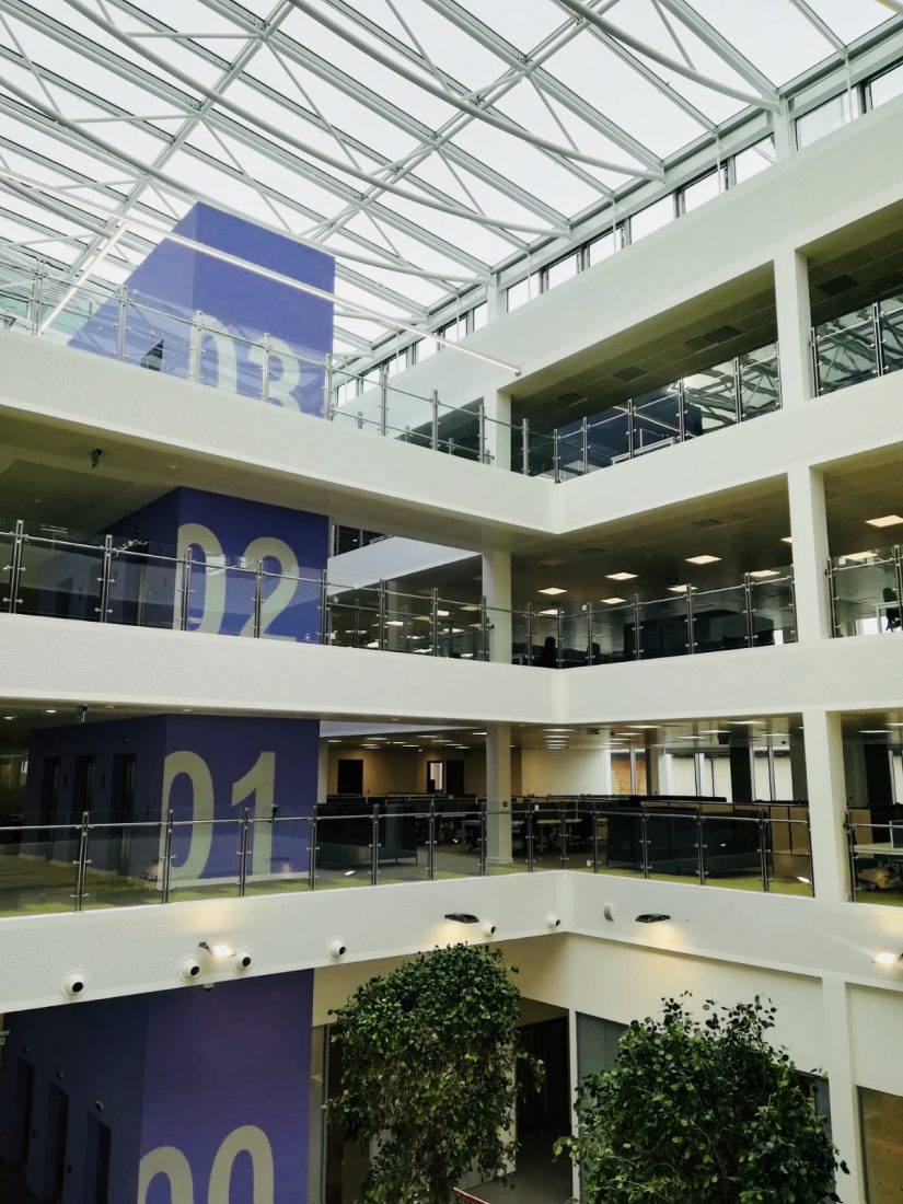 Conwy County Borough Council's New Offices Central Atrium