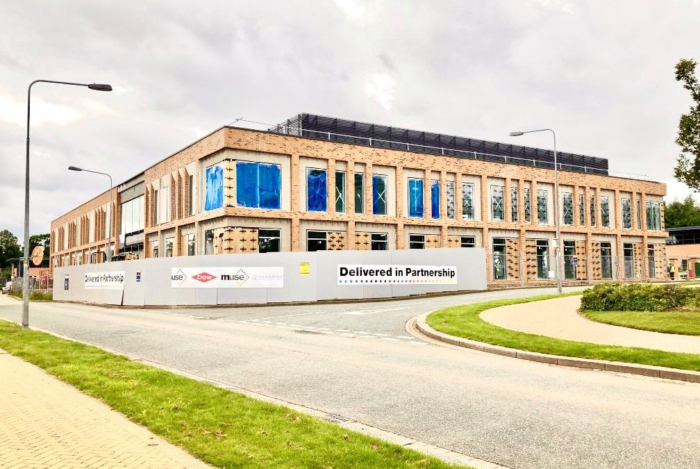 Dow Chemicals HQ progressing on site