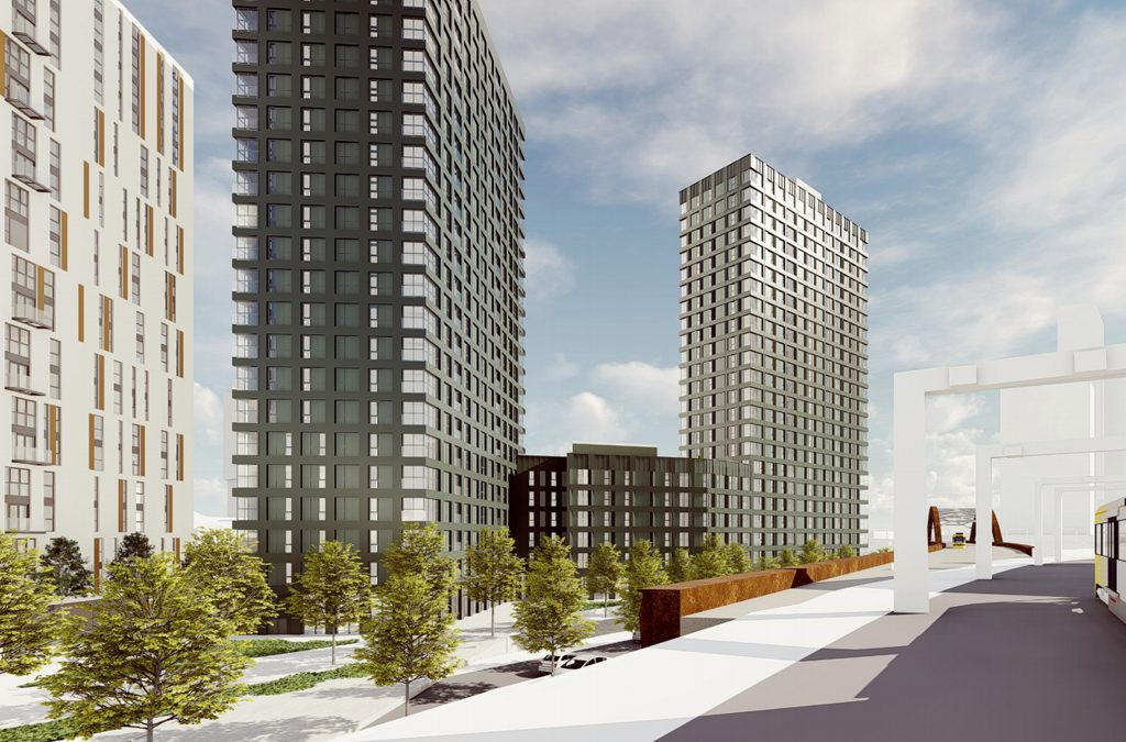 New Bailey Residential Tower Progressing on Site