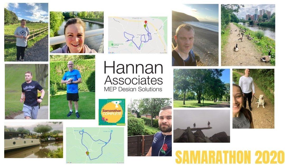 Hannan Associates take on Samarathon