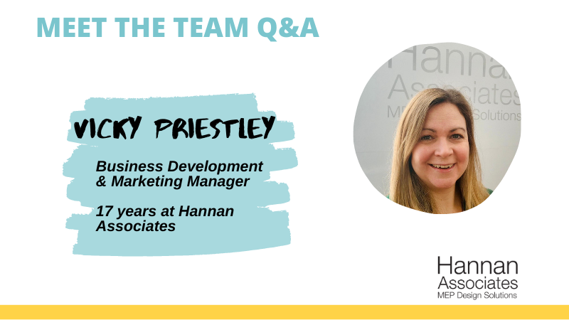 Meet the Team Q&A: Vicky Priestley